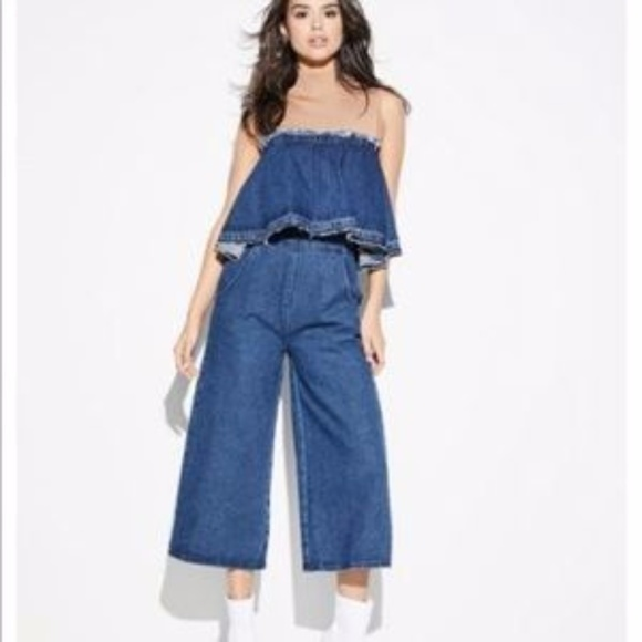 e58138a19098 Anthropologie Pants - Anthropologie Denim Jumpsuit